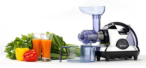 Vonshef Slow Juicer Horizontal Masticating Juice Extractor Wheatgrass Fruit : Kuvings Multi-Purpose Masticating Juicer
